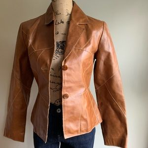 Wilson Leather brown jacket size S
